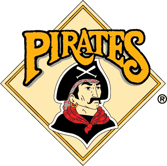 pirates logo baseball coloring pages - photo#35